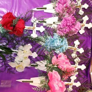 Plot Marker flowers